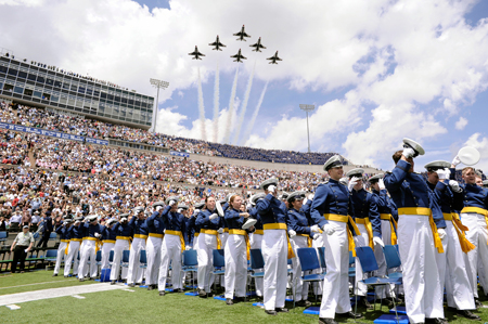 USAF graduation, USAFA photo
