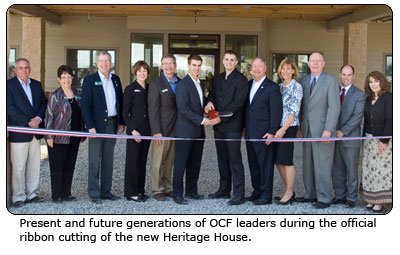 heritage house ribbon cutting