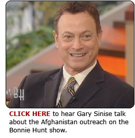 Click here to see Gary Sinise talk about Project Afghanistan