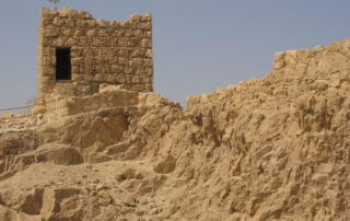 Ruins of Masada. Photo by Flickr user LSG05