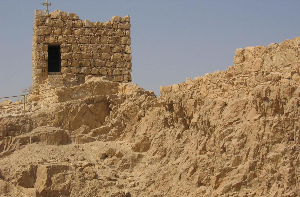 Ruins of Masada. Photo by Flickr user LSG05