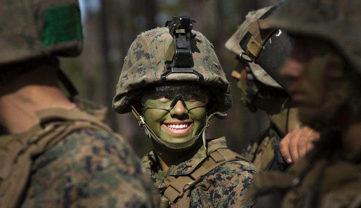 The graduate: U. S. Marine Corps photo by Chief Warrant Officer 2 Paul S. Mancuso