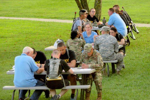 OCF Chapel Coverage—Army ROTC Cadet Summer Training