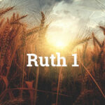 Ruth Chapter 1